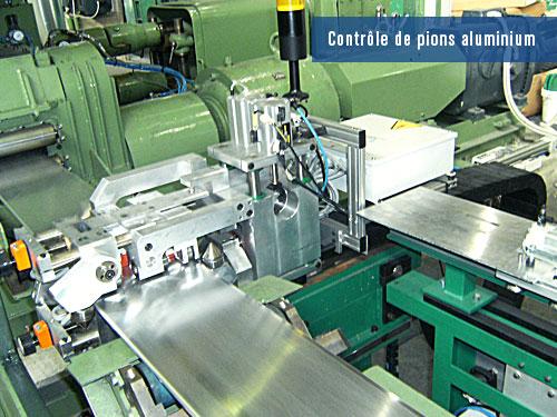 detection de defauts sur bandes aluminium