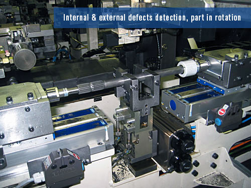 eddy current system for internal & external defects detection