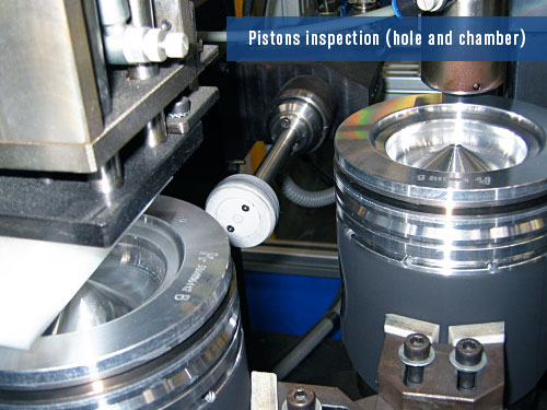 defects detection on piston